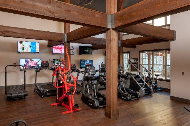 One of Our Two Fitness Centers