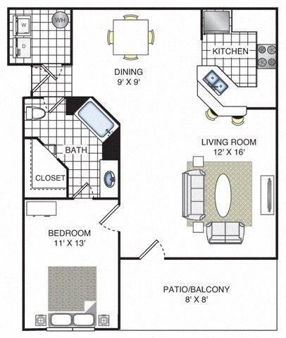 Cedar Floor Plan Image