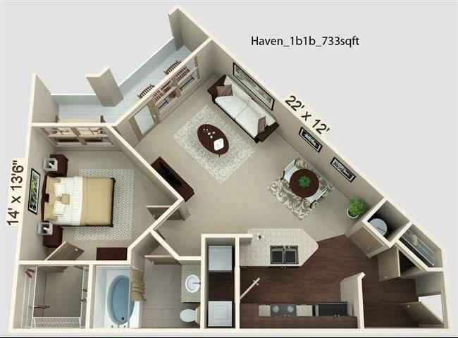 Haven Floor Plan Image
