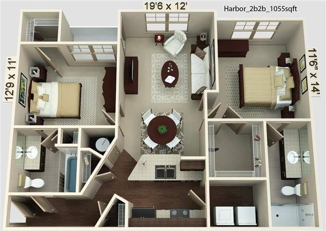 Harbor Floor Plan Image