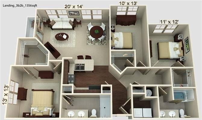Landing Floor Plan Image