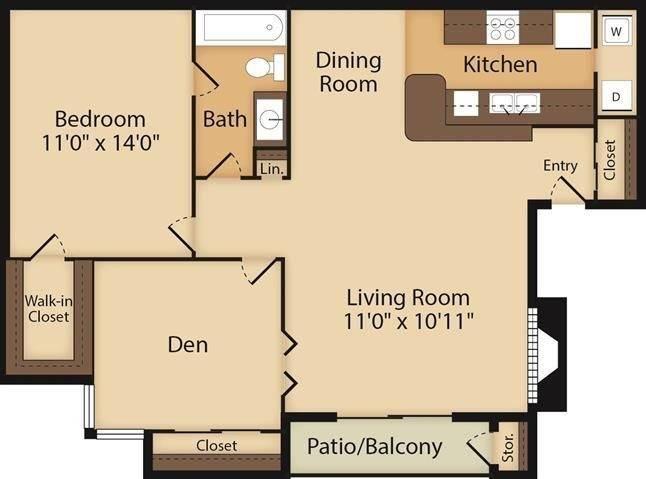 Bordeaux Floor Plan Image