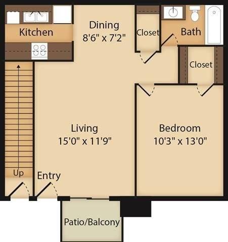 Mountain Spring Floor Plan Image