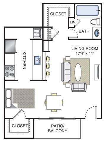 Monet Floor Plan Image