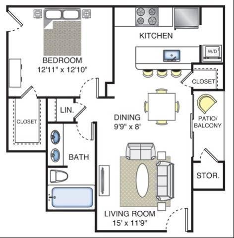 Michelangelo Floor Plan Image