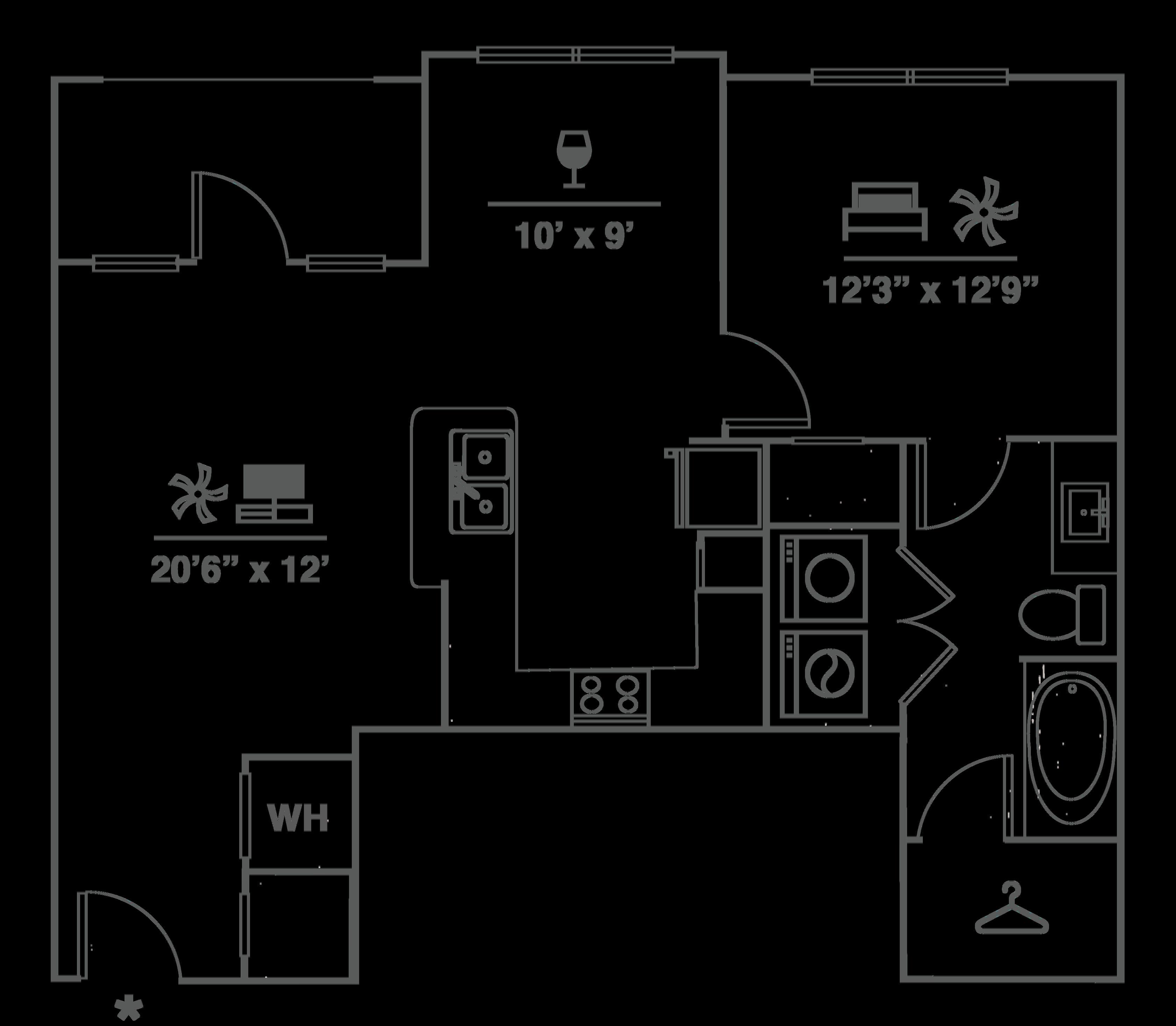 A2E Floor Plan Image