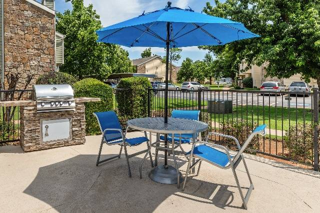 Outdoor Grill and Picnic Area