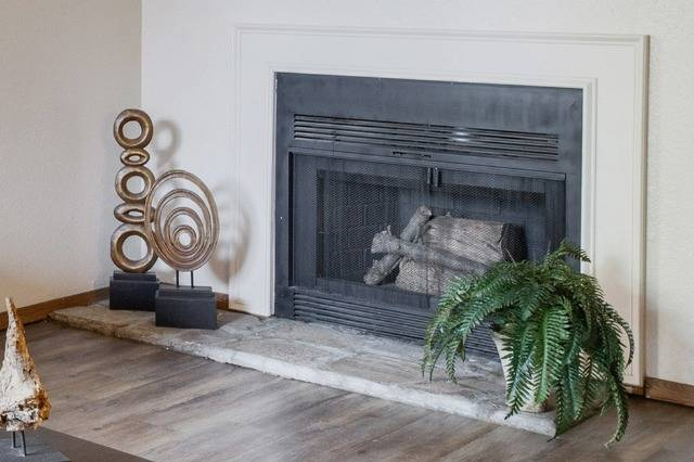 Fireplace in Living Area