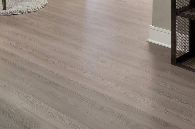 Closeup of Hardwood-Style Flooring in Living Area