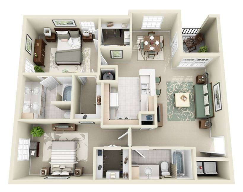 2B Floor Plan Image