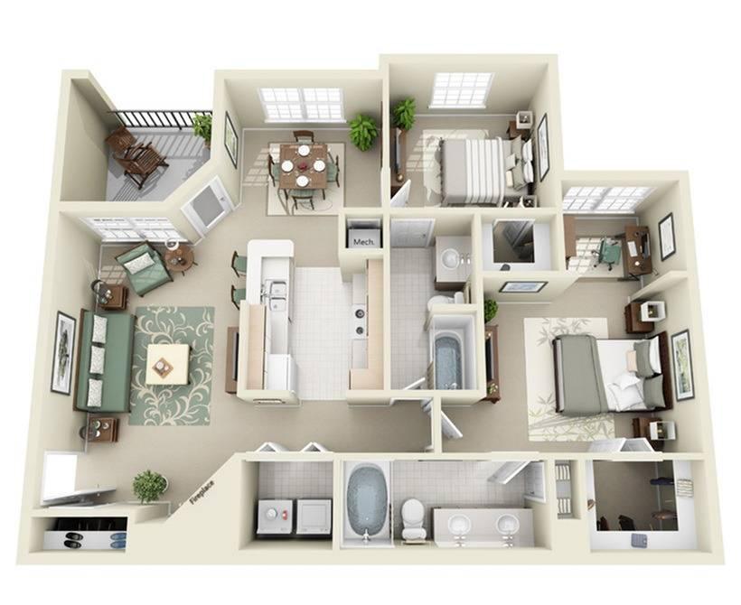 2C Floor Plan Image