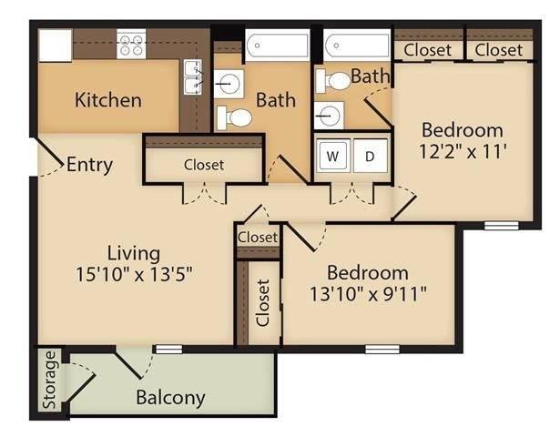 Crown Royal Floor Plan Image