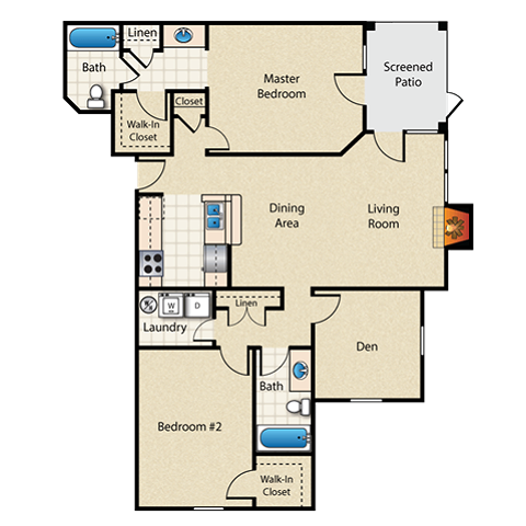 Lake Wawasee Floor Plan Image