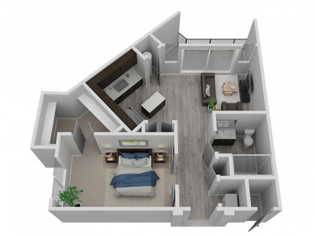 One Bedroom - A3