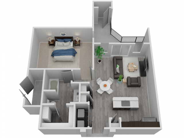 One Bedroom - A4
