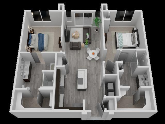 Two Bedroom - B1
