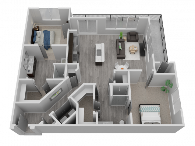Two Bedroom - B2