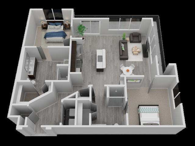 Two Bedroom - B4
