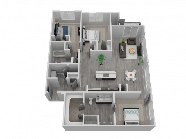 Three Bedroom - C1