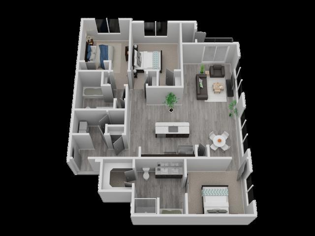 Three Bedroom - C2