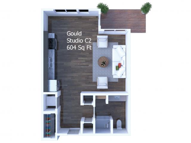 Gould Studio Floor Plan Layout