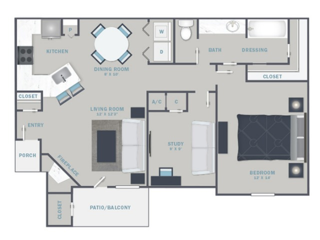 B1U- Reno Package starting Sept. 2021 - White Quartz Countertops and Stainless Steel Appliances