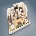 Abbey 3D model