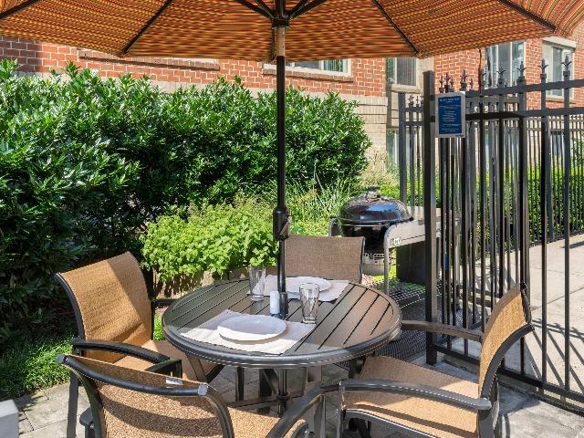 Grilling Station & Herb Garden