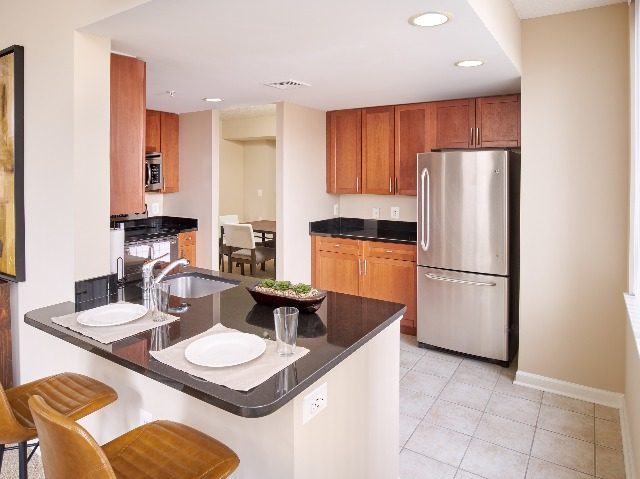 Stainless Steel Appliances   Luxury Alexandria VA Apartments   Carlyle Place