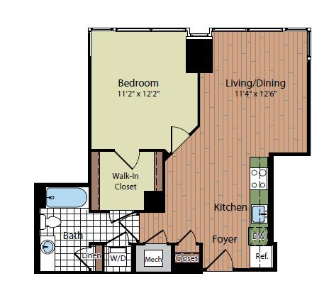 Floor Plan 6   Parc Meridian at Eisenhower Station