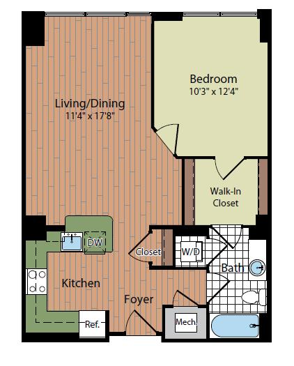Floor Plan   Parc Meridian at Eisenhower Station 2