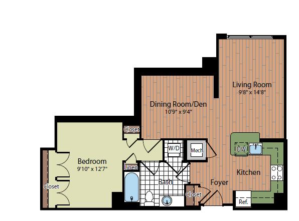 Floor Plan 5   Parc Meridian at Eisenhower Station 2