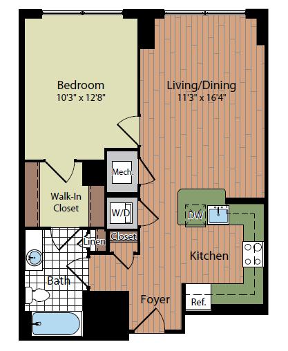 Floor Plan 5   Parc Meridian at Eisenhower Station 3