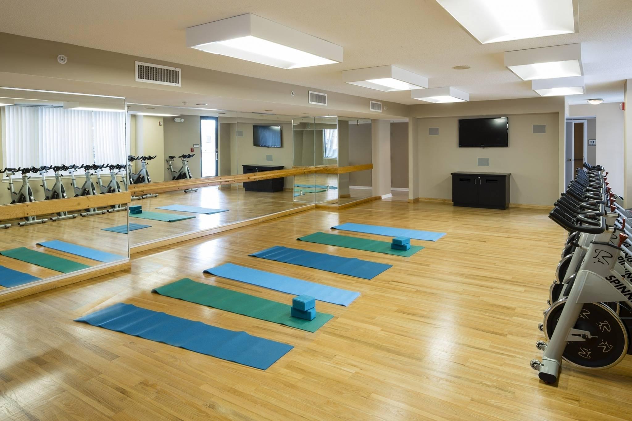 Spin Bike and Yoga Studio