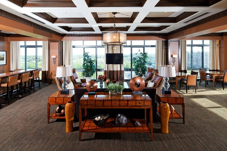 Elegant Clubroom with WiFi