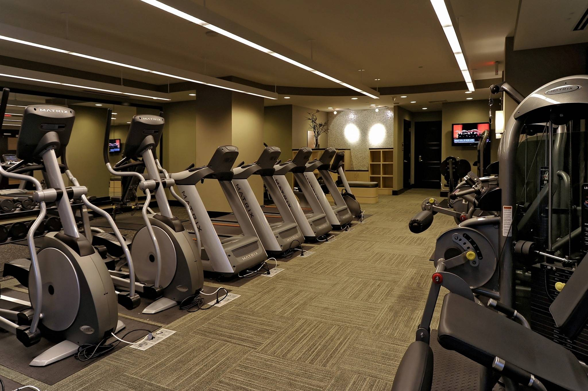 Fitness Center with Cardio Theatre