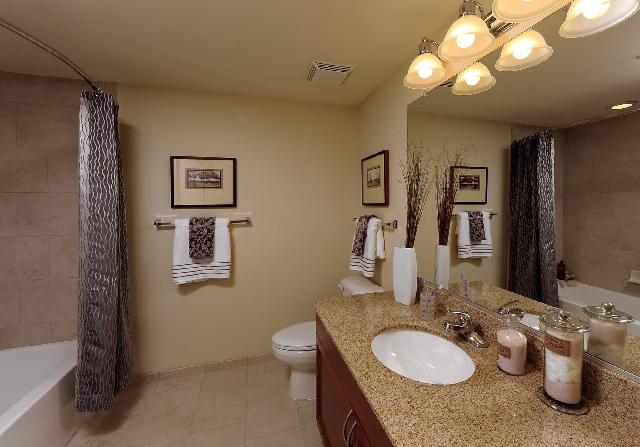 Ceramic Tile and Tub Surrounds in Bathrooms