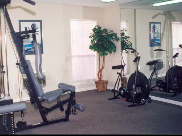 Image of Fitness Center for Afton Oaks Apartments