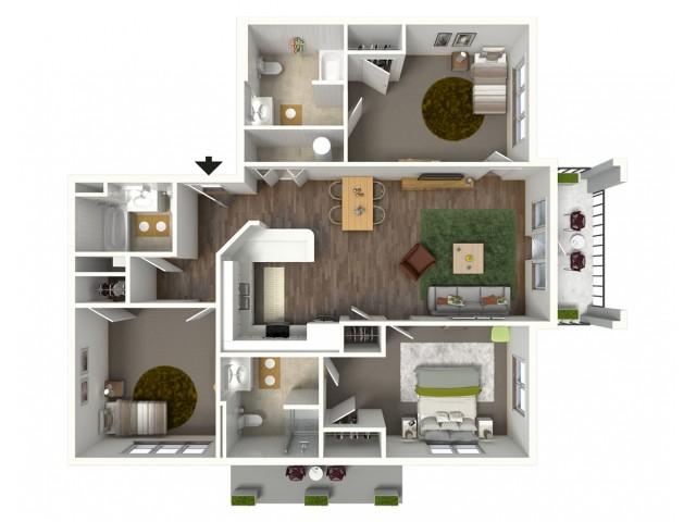 1 bedroom apartments for rent in baton rouge bayonne at southshore for One bedroom apartments near lsu