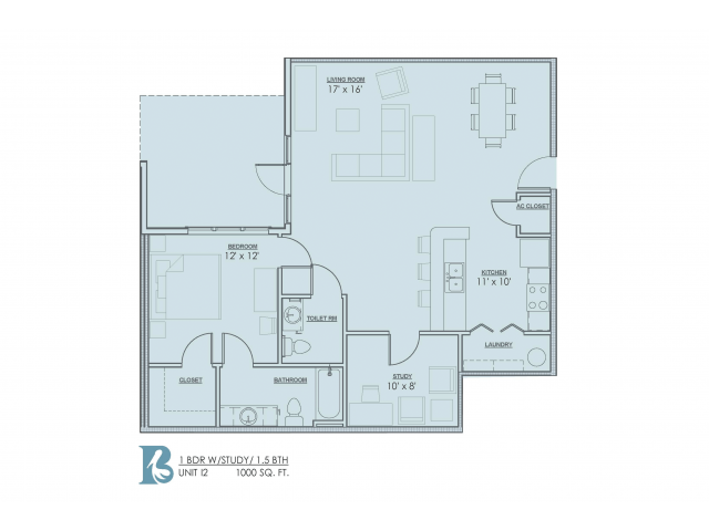 Spacious Floor Plans | Baton Rouge Luxury Apartments | Bayonne at Southshore