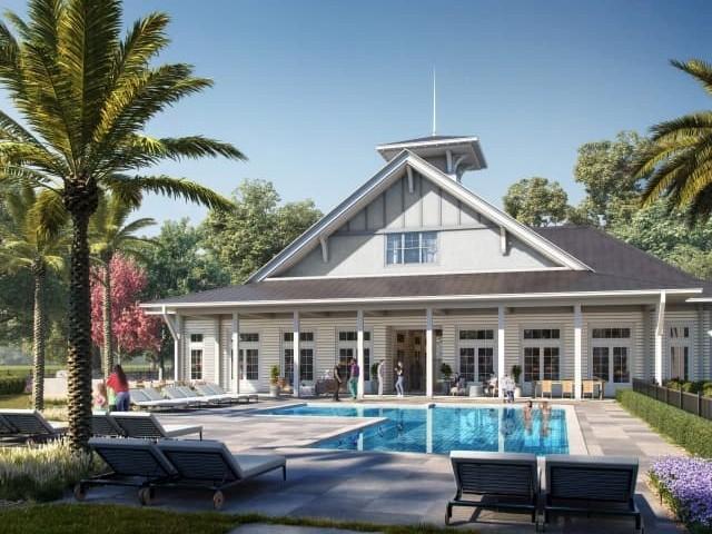 Elegant Clubhouse | Lafayette Apartments | Bayou Shadows Apartment Homes