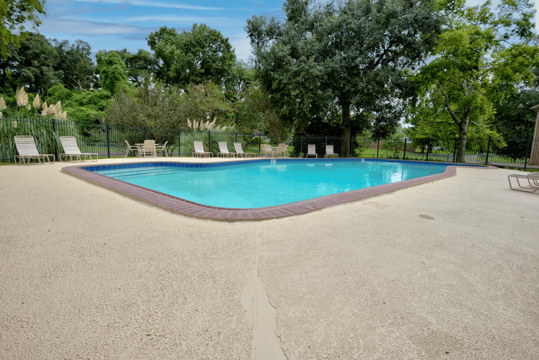 4 Sparkling Pools | Baton Rouge Apartments | Bayou Shadows Apartment Homes