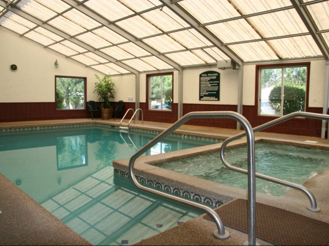 Image of Year-Round Indoor Pool for Ridgeview Place Apartments