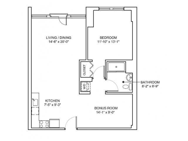 10 x 6 bathroom designs 1 bed 1 bath apartment in charlestown ma mezzo design lofts