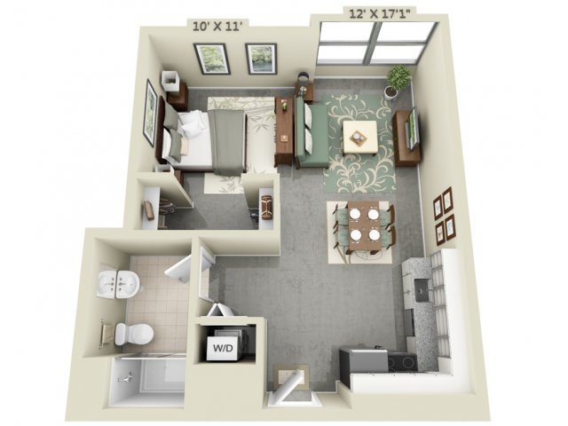 Charming For The Studio Floor Plan.