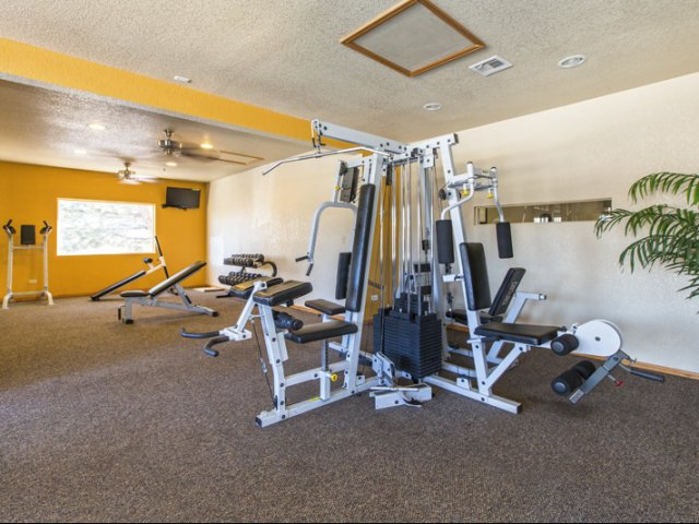 Image of Fitness Center for Ridgeview Place Apartments