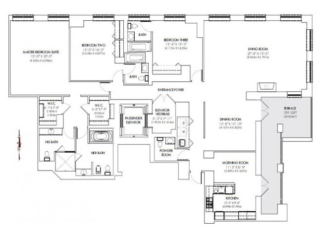 Lincoln property company properties highgrove stamford ct for Highgrove house floor plan