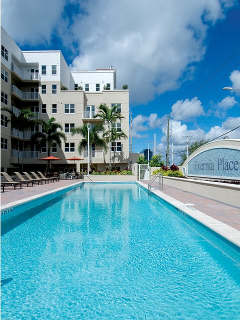 Year Round Swimming Pool | Apartment in West Palm Beach, FL | Evernia Place