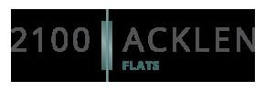 2100 Acklen Flats Logo