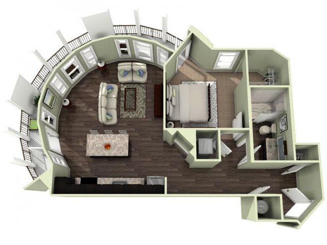 Floor Plan 9 | LaVie SouthPark